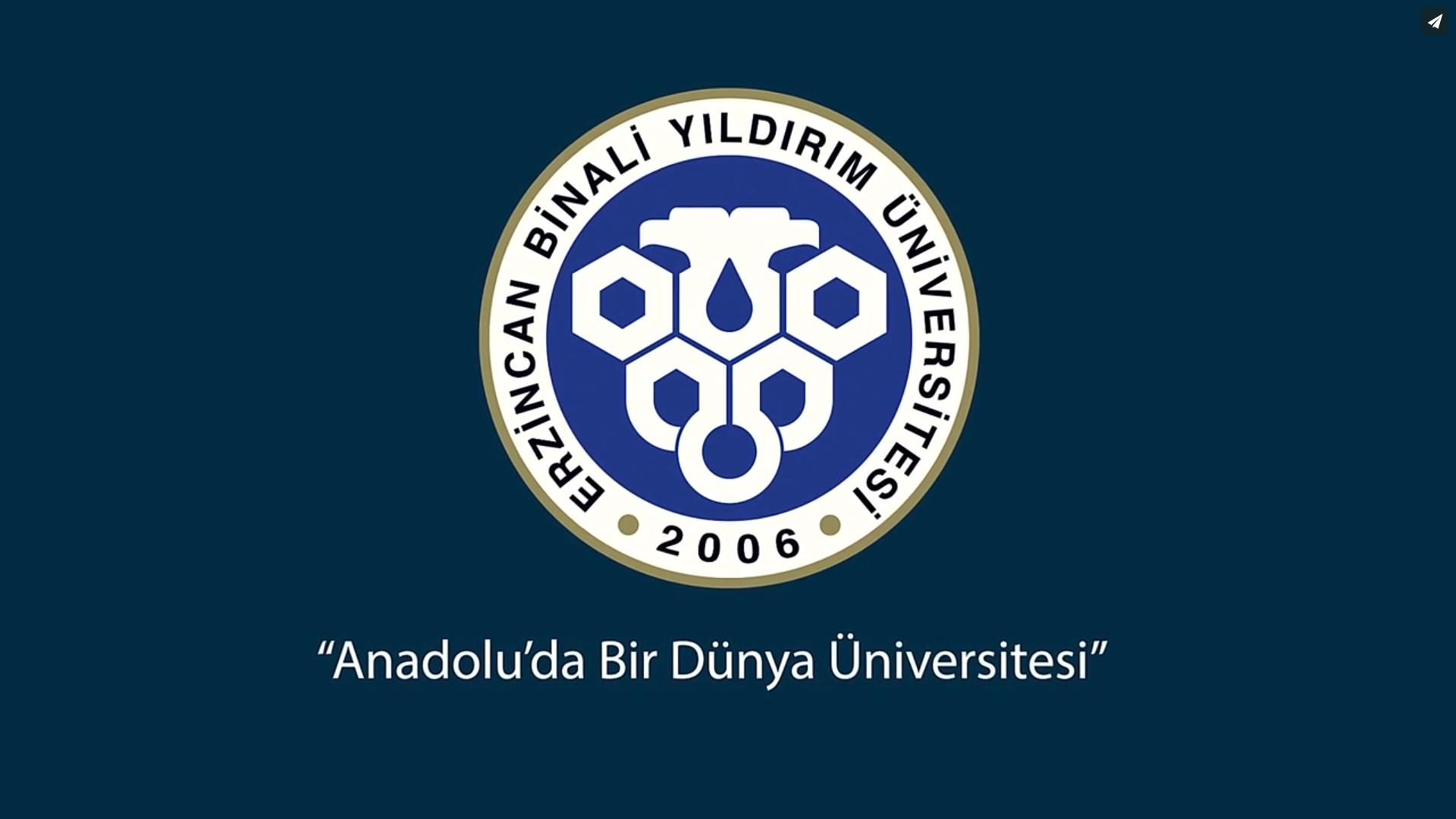 Erzincan Binali Yıldırım Üniversitesi Tanıtım Filmi