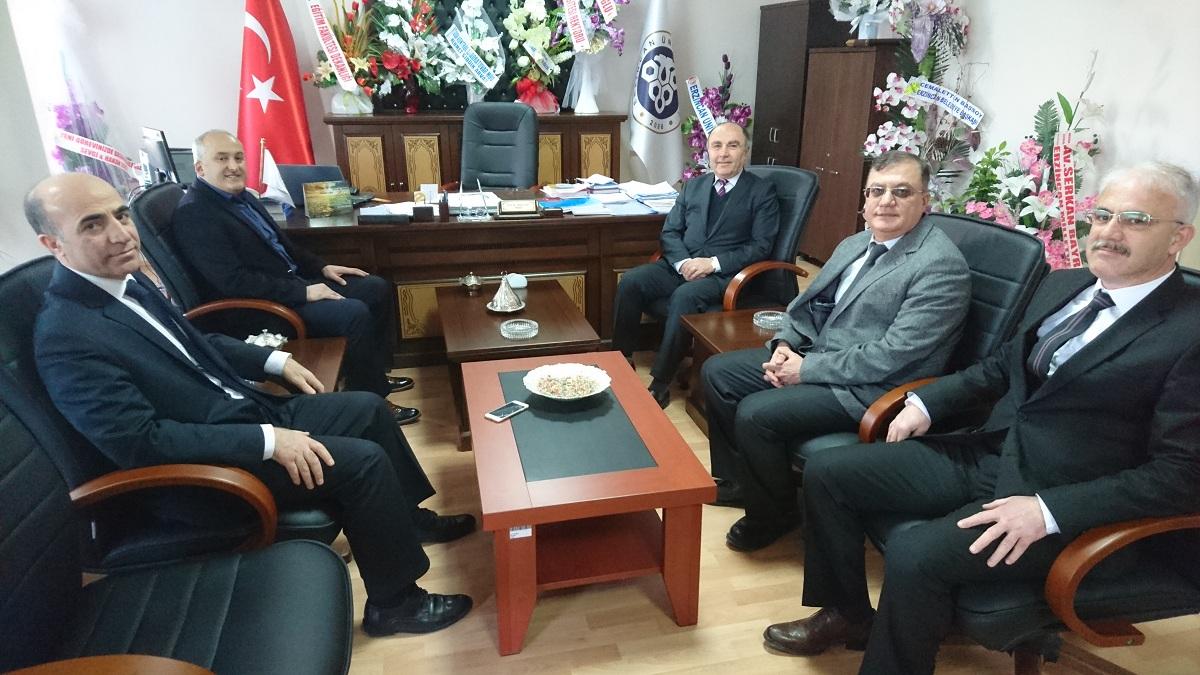 Erzincan Vali Yardımcısı Sayın Ahmet TÜRKÖZ'ün Dekanlığımızı Ziyaretleri