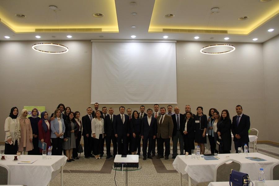 TSRM Bölge Toplantısı Erzincanda gerçekleştirildi.