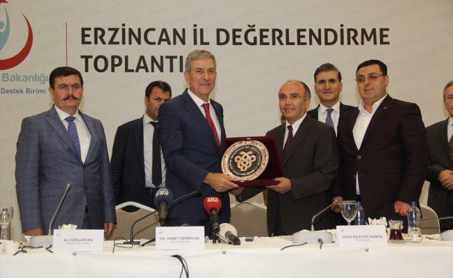 Sağlık Bakanımız Sayın Prof. Dr. Ahmet DEMİRCAN'ın Erzincan'ı Ziyaretleri