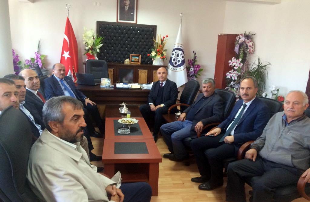 Sayın Başbakanımız Binali YILDIRIM'ın Başdanışmanı Sayın Süleyman KARAMAN'ın Dekanlığımızı Ziyaretleri