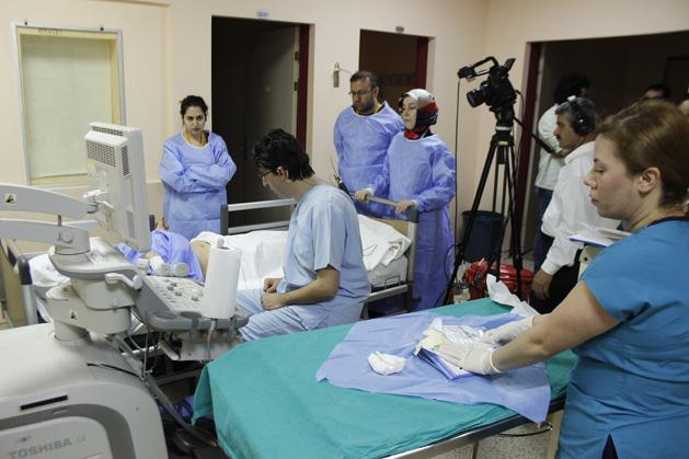 18. Ultrasonografi Eşliğinde Uygulamalı Karaciğer Biyopsisi Kursu düzenlendi