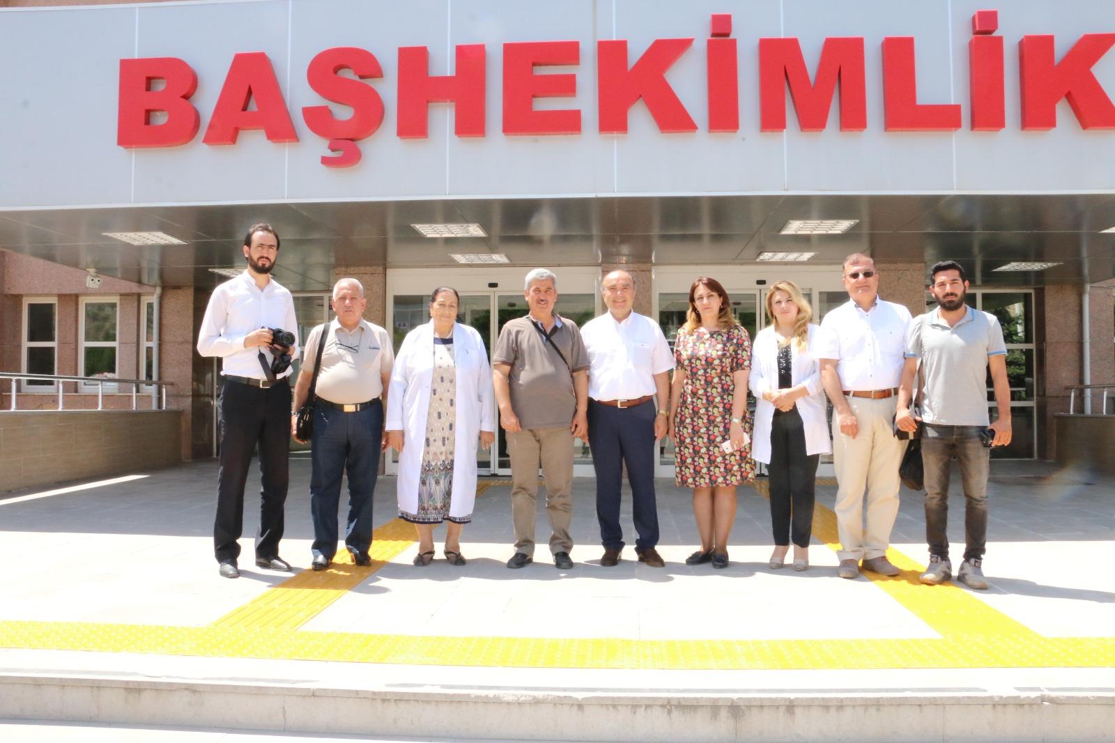 Nahçıvan Devlet Üniversitesi Tıp Fakültesinden Öğrenciler Tıp Fakültemizde staj görmek üzere ilimize geldiler.